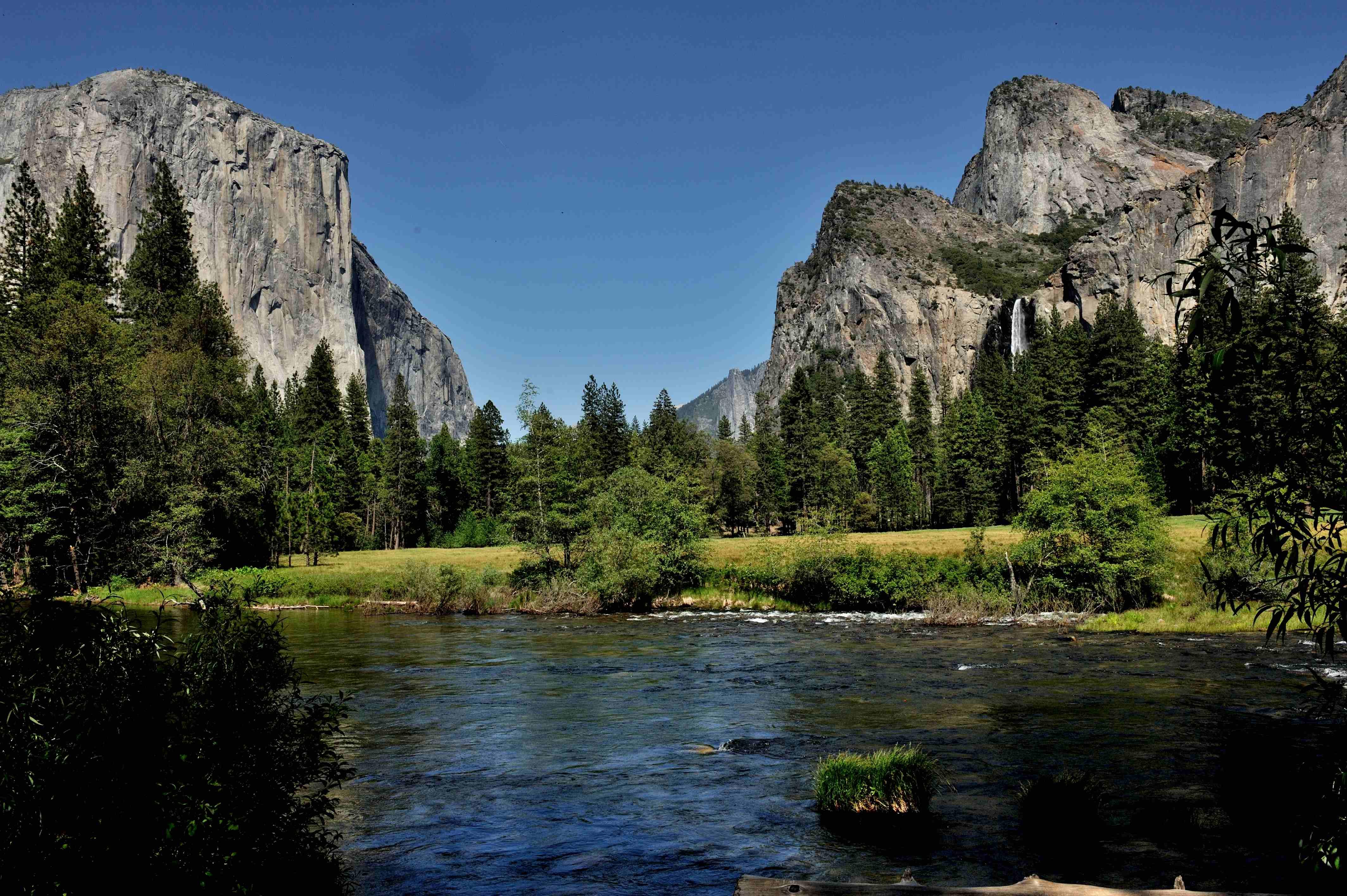 Cartina Yosemite National Park.Tour Al Parco Nazionale Di Yosemite In Italiano
